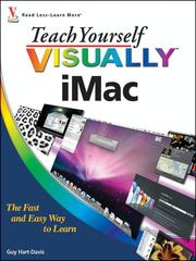 Cover of: Teach Yourself VISUALLY iMac