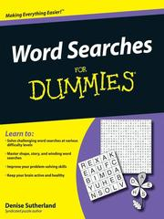 Cover of: Word Searches For Dummies®