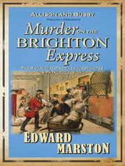 Cover of: Murder on the Brighton Express