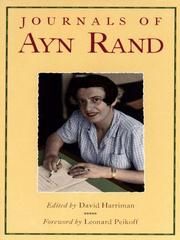 Cover of: The Journals of Ayn Rand
