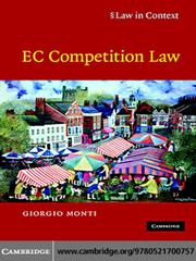 Cover of: EC Competition Law