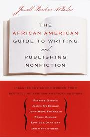Cover of: The African American Guide to Writing and Publishing Non Fiction