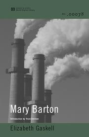 Cover of: Mary Barton