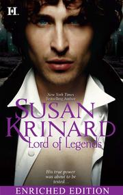 Cover of: Lord of Legends