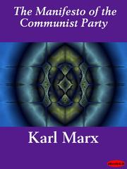 Cover of: The Manifesto of the Communist Party