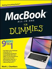 Cover of: MacBook All-in-One For Dummies