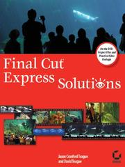Cover of: Final CutExpress Solutions