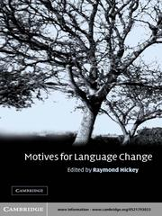 Cover of: Motives for Language Change