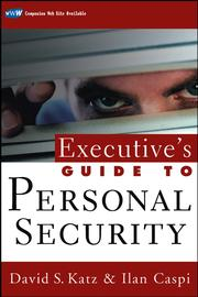 Cover of: Executive's Guide to Personal Security