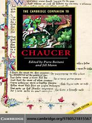 Cover of: The Cambridge Companion to Chaucer