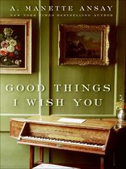 Cover of: Good Things I Wish You