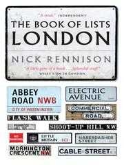 Cover of: The Book of Lists London