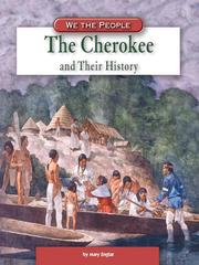 Cover of: The Cherokee and Their History