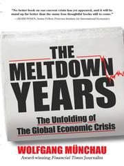 Cover of: The Meltdown Years