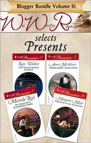 Cover of: Blogger Bundle Volume II: WeWriteRomance.com Selects Presents