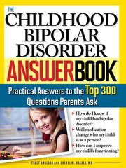 Cover of: Childhood Bipolar Disorder Answer Book