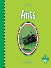 Cover of: Ants