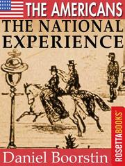 Cover of: The Americans: The National Experience