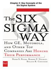 Cover of: Key Concepts of the Six Sigma System