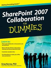 Cover of: SharePoint 2007 Collaboration For Dummies®