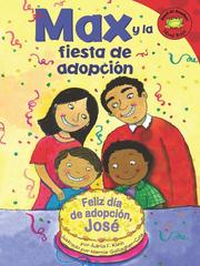 Cover of: Max y la fiesta de adopcion