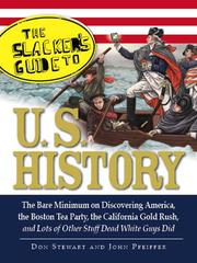 Cover of: The Slacker's Guide to U.S. History