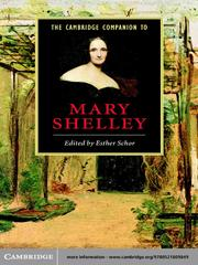 Cover of: The Cambridge Companion to Mary Shelley