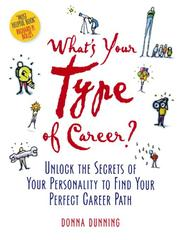 Cover of: What's Your Type of Career