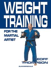 Cover of: Weight Training for the Martial Artist