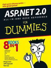 Cover of: ASP.NET 2.0 All-In-One Desk Reference For Dummies