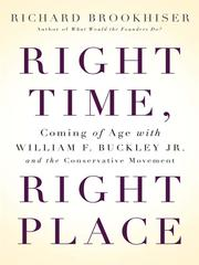 Cover of: Right Time, Right Place