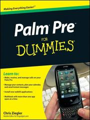 Cover of: Palm Pre For Dummies