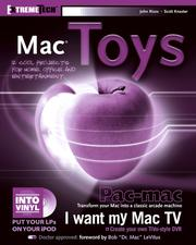 Cover of: Mac Toys