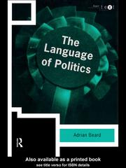 Cover of: The Language of Politics