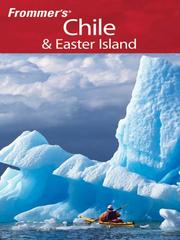 Cover of: Frommer's Chile & Easter Island