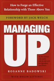 Cover of: Managing Up