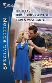 Cover of: The Texas Bodyguard's Proposal