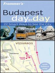 Cover of: Frommer's® Budapest Day by Day