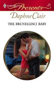 Cover of: The Brunellesci Baby