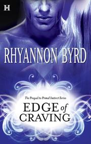 Cover of: Edge of Craving