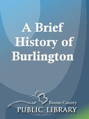 Cover of: A Brief History of Burlington