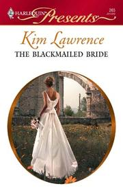 Cover of: The Blackmailed Bride