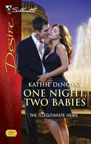 Cover of: One Night, Two Babies