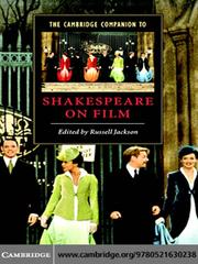 Cover of: The Cambridge Companion to Shakespeare on Film