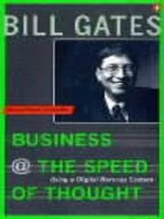Cover of: Business at the Speed of Thought