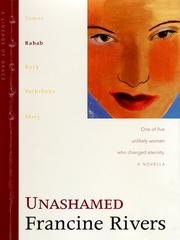 Cover of: Unashamed