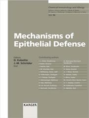 Cover of: Mechanisms of Epithelial Defense