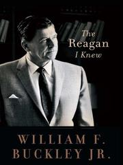 Cover of: The Reagan I Knew