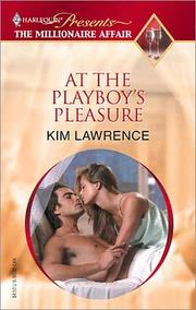 Cover of: At the Playboy's Pleasure