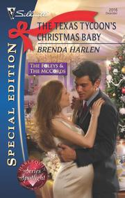 Cover of: The Texas Tycoon's Christmas Baby